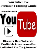 YouTube Live Premier Training Guide