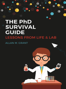 The PhD Survival Guide: Lessons from Life and Lab