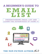 A Beginner's Guide to Email List