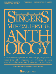 The Singer's Musical Theatre Anthology - Volume 5: Mezzo-Soprano/Belter Book Only