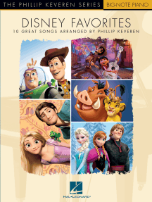 Disney Favorites: The Phillip Keveren Series