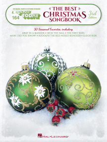 The Best Christmas Songbook - 3rd Edition: E-Z Play Today Volume 164
