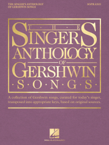 The Singer's Anthology of Gershwin Songs - Soprano