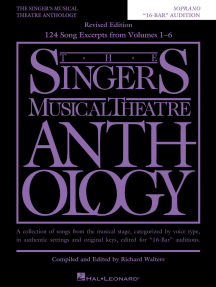 "The Singer's Musical Theatre Anthology - ""16-Bar"" Audition: Soprano Edition"