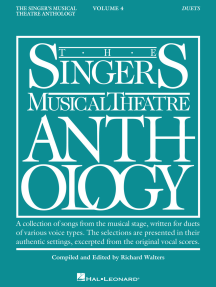 The Singer's Musical Theatre Anthology: Duets - Volume 4: Book Only