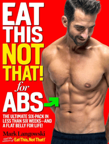Eat This, Not That! for Abs: The Ultimate Six-Pack in Less Than Six Weeks--and a Flat Belly for Life!