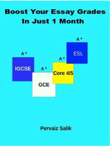 Boost Your Essay Grades in Just 1 Month