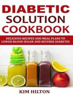 Diabetic Solution Cookbook
