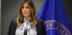 As The President Tweets Attacks, Melania Trump Speaks Out Against Cyberbullying