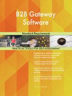 B2B Gateway Software Standard Requirements