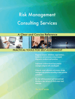 Risk Management Consulting Services A Clear and Concise Reference