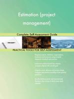 Estimation (project management) Complete Self-Assessment Guide