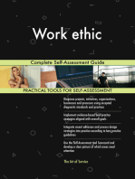 Work ethic Complete Self-Assessment Guide