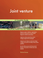 Joint venture A Complete Guide