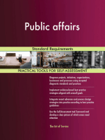 Public affairs Standard Requirements