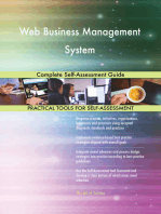 Web Business Management System Complete Self-Assessment Guide