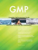 GMP Complete Self-Assessment Guide