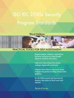 ISO IEC 2700x Security Program Standards Third Edition