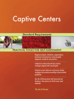 Captive Centers Standard Requirements