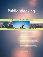 Public speaking A Clear and Concise Reference