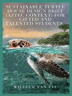 Sustainable Turtle House Design Brief (Aztec context) for Gifted and Talented Students.