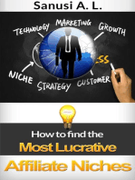 How to find the Most Lucrative Affiliate Niches