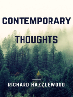 Contemporary Thoughts