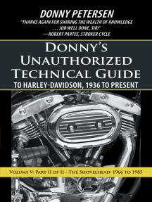 Donny'S Unauthorized Technical Guide to Harley-Davidson, 1936 to on