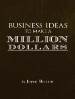 Business Ideas to Make a Million Dollars
