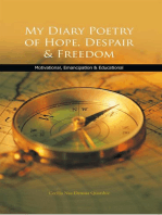 My Diary Poetry of Hope, Despair & Freedom