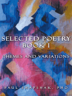 Selected Poetry Book I