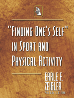 """""""Finding One's Self"""" in Sport and Physical Activity"""