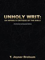 Unholy Writ: