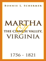 Martha of the Clinch Valley, Virginia 1756 - 1821