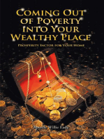 Coming out of Poverty into Your Wealthy Place