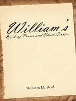 William'S Book of Poems and Short Stories