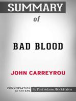 Summary of Bad Blood