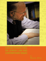Further Perspectives on Jewish Law and Contemporary Issues