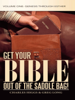 Get Your Bible out of the Saddle Bag!