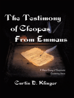 The Testimony of Cleopas from Emmaus