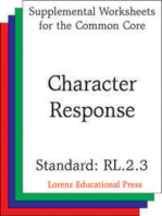 Character Response (CCSS RL.2.3)