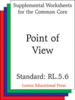 Point of View (CCSS RL.5.6)