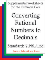 Converting Rational Numbers to Decimals (CCSS 7.NS.A.2d)