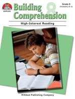 Building Comprehension - Grade 8