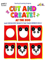Cut and Create! At the Zoo