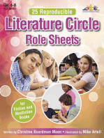 Literature Circle Role Sheets: For Fiction and Nonfiction Books
