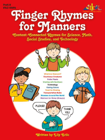 Finger Rhymes for Manners: Content-Connected Rhymes for Science, Math, Social Studies, and Technology