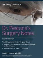 Dr. Pestana's Surgery Notes