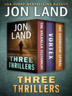 Three Thrillers