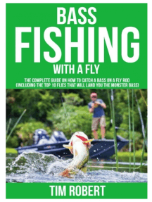 Bass Fishing with a Fly: The Complete Guide on How to Catch a Bass on a Fly Rod (Including the Top 10 Flies that will land you the Monster Bass)